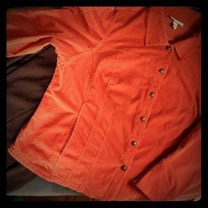 Thin Whale Corduroy Burnt Orange Jacket